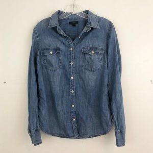 J. Crew Western Chambray Shirt (A4)